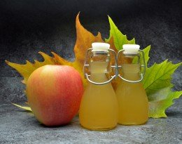 Apple cider vinegret